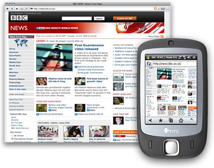 5 Веб дизайн для мобильных телефонов l