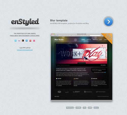 Лучший веб-дизайн #38